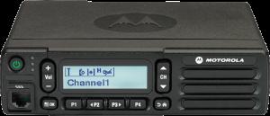 TRBO Mid Tier Alphanumeric Display Mobile Front